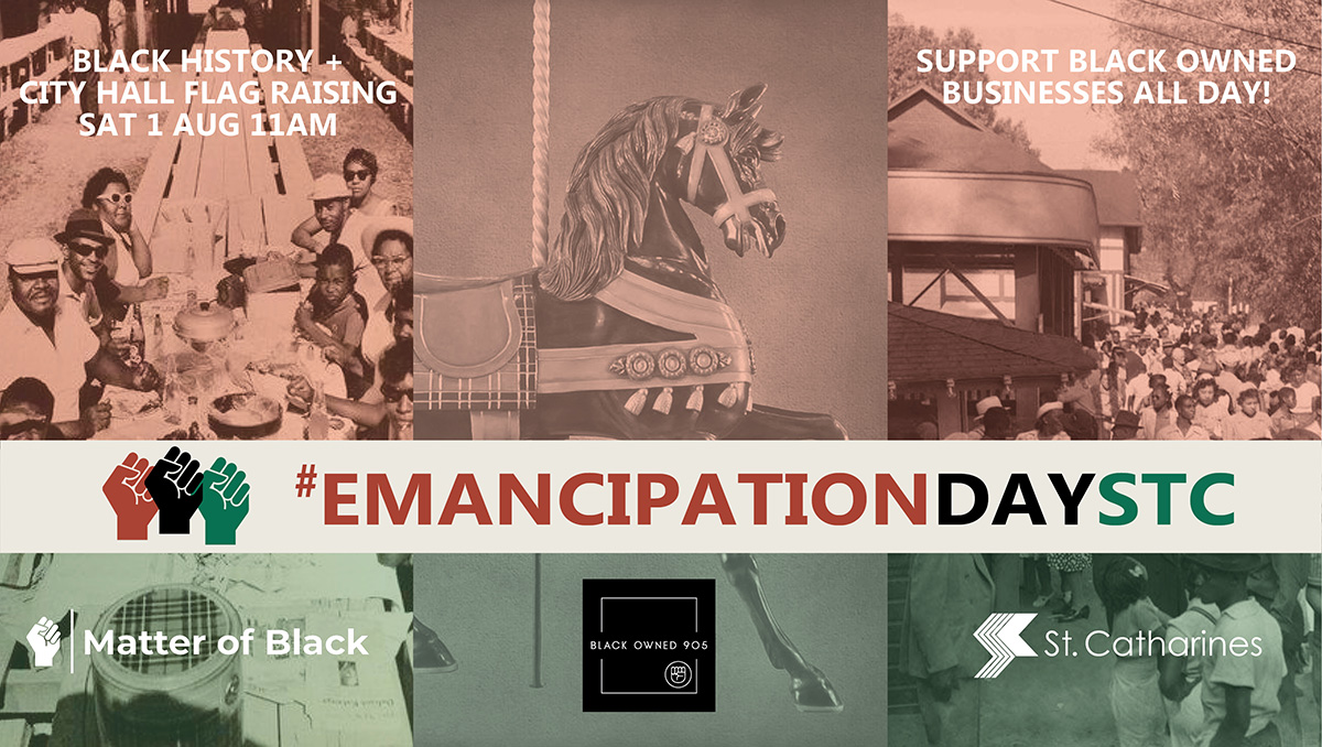SAT 1 AUG - #EMANCIPATIONDAYSTC