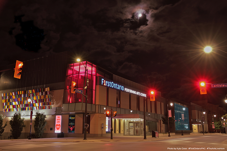 FirstOntario Performing Arts Centre, Downtown St. Catharines - photo by Kyle Greer