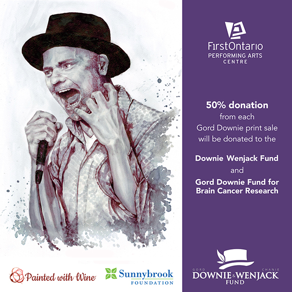 Gord Downie - Painted With Wine - 50% to Downie Wenjack Fund