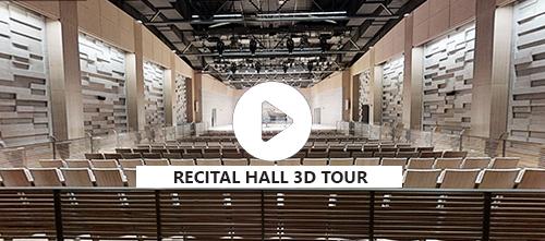 RECITAL HALL, FirstOntario Performing Arts Centre - 3D Tour