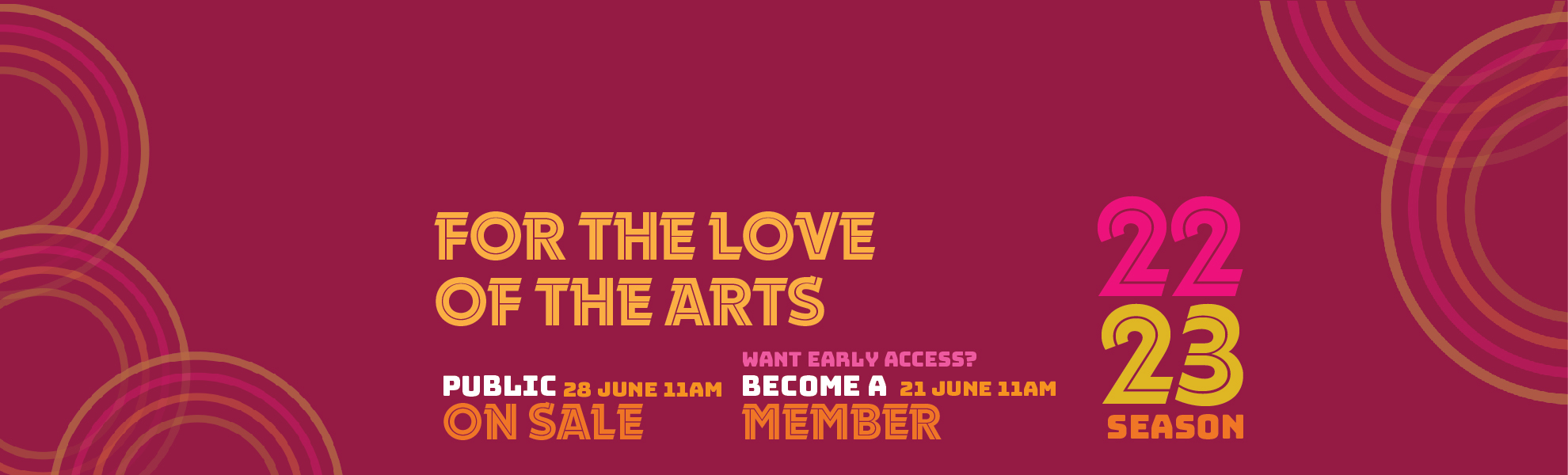 THE ARTS LIVE HERE