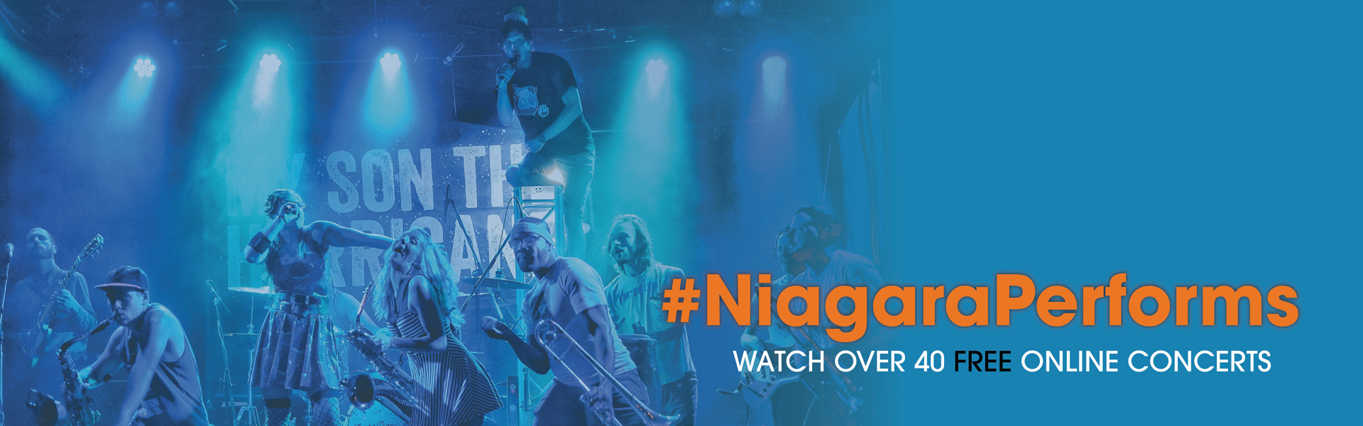 #NiagaraPerforms online concerts + events